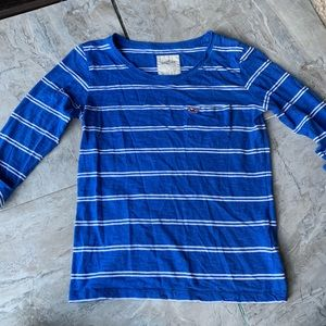 Hollister Scoopneck Striped Tee